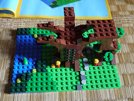 LEGO-31010-ツリーハウスを作った8.jpg