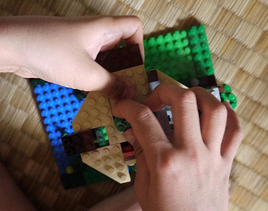 LEGO-31010-ツリーハウスを作った9.jpg