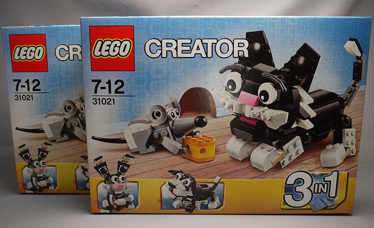 LEGO-31021-クリエイター・キャット&マウスを追加購入した。2個目1.jpg