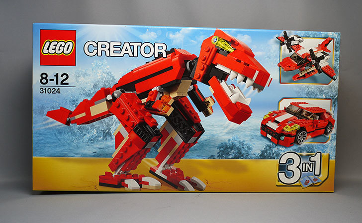 LEGO-31024-クリエイター・ダイノが届いた1.jpg