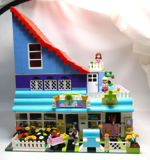 LEGO-3188-ハートレイクのアニマルクリニック-改造1.jpg