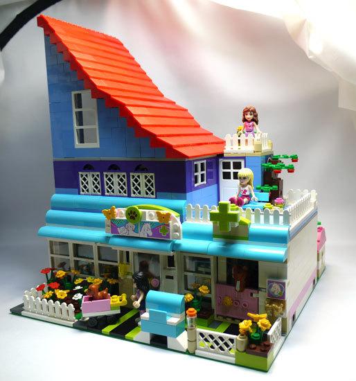 LEGO-3188-ハートレイクのアニマルクリニック-改造2.jpg