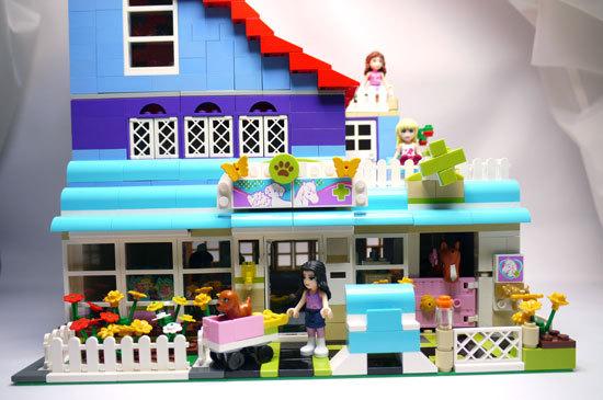 LEGO-3188-ハートレイクのアニマルクリニック-改造3.jpg