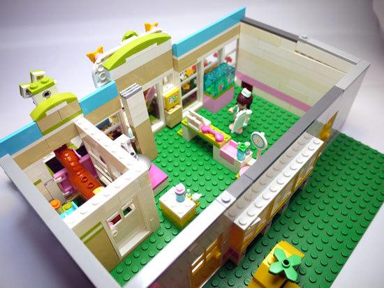 LEGO-3188-ハートレイクのアニマルクリニック-改造4.jpg