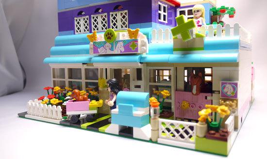 LEGO-3188-ハートレイクのアニマルクリニック-改造8.jpg