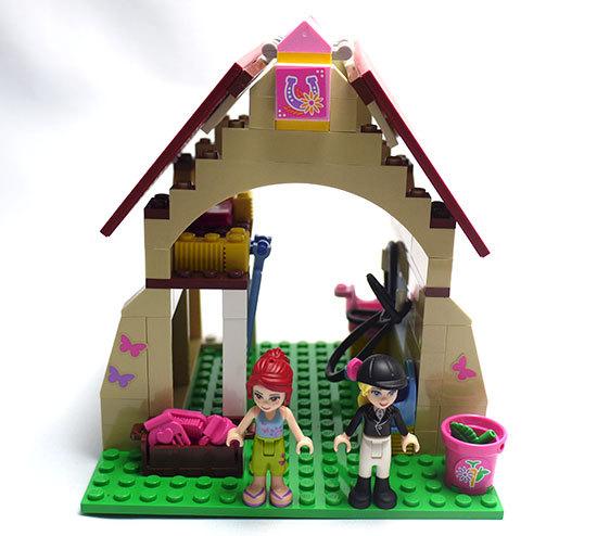 LEGO-3189-ハートレイクホースクラブを作った5.jpg