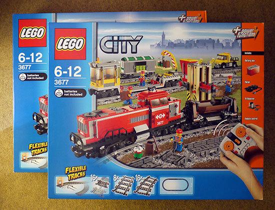 LEGO-3677-レッドカーゴトレインが届いた。3個目。.jpg