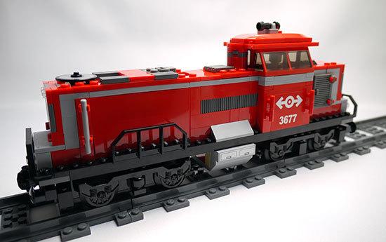 LEGO-3677-レッドカーゴトレイン作った1-1.jpg