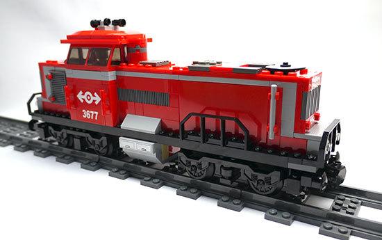 LEGO-3677-レッドカーゴトレイン作った1-13.jpg