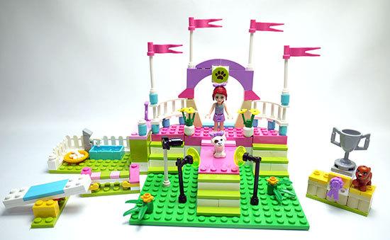 LEGO-3942-ハートレイクのドッグショーを作った1.jpg
