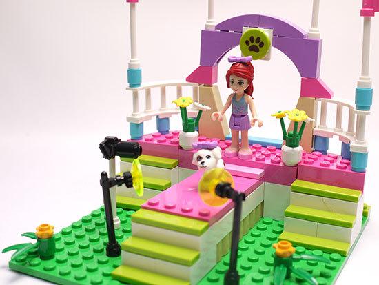 LEGO-3942-ハートレイクのドッグショーを作った11.jpg