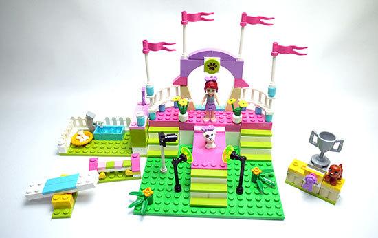 LEGO-3942-ハートレイクのドッグショーを作った3.jpg