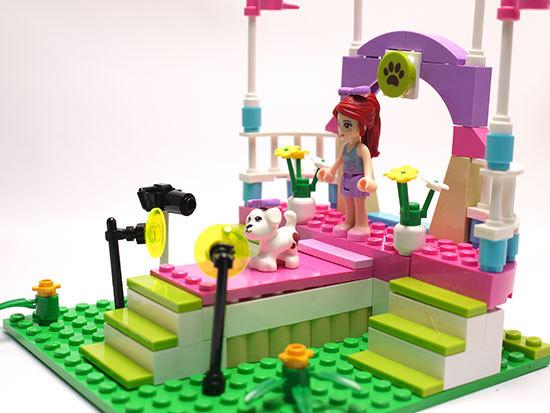 LEGO-3942-ハートレイクのドッグショーを作った5.jpg