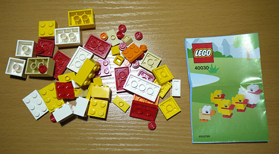 LEGO-40030-Duck-with-Ducklingsを作った2.jpg