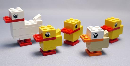 LEGO-40030-Duck-with-Ducklingsを作った8.jpg