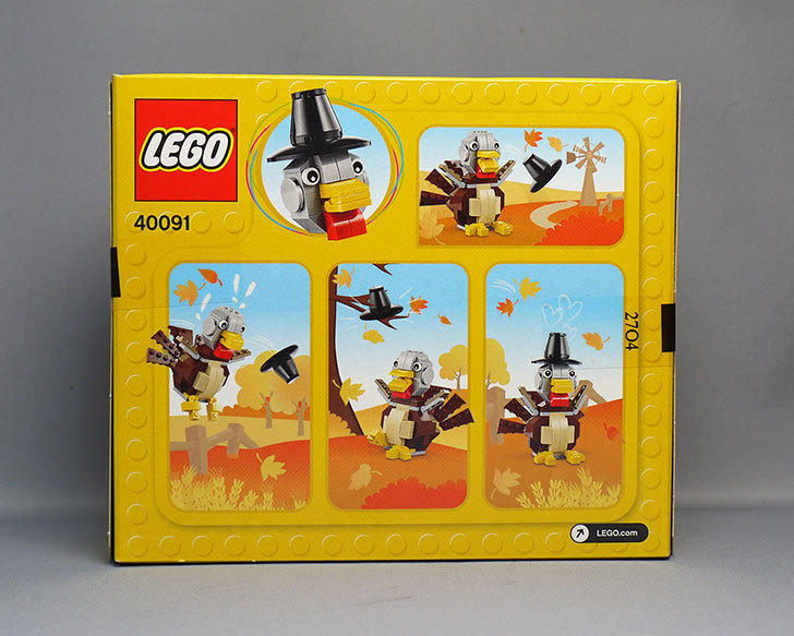 LEGO-40091-Thanksgiving-Turkeyをクリブリで買って来た2.jpg