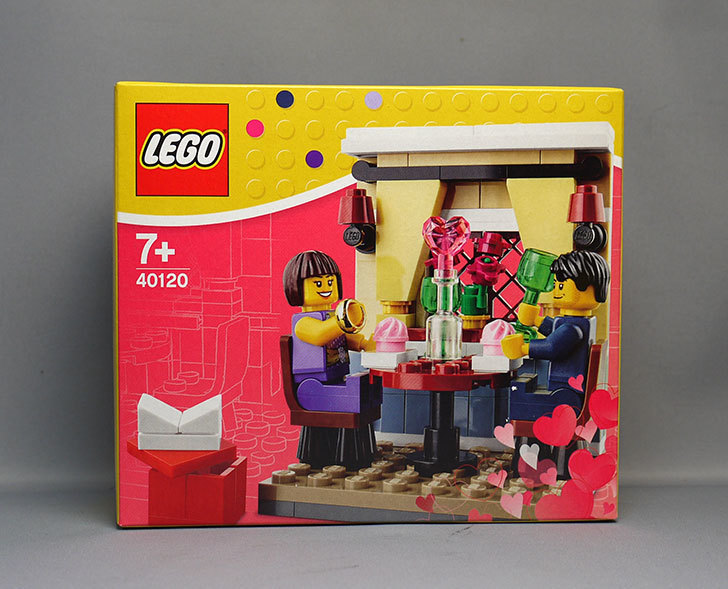 LEGO-40120-Seasonal-Valentine's-Day-Dinnerをクリブリで買って来た1.jpg