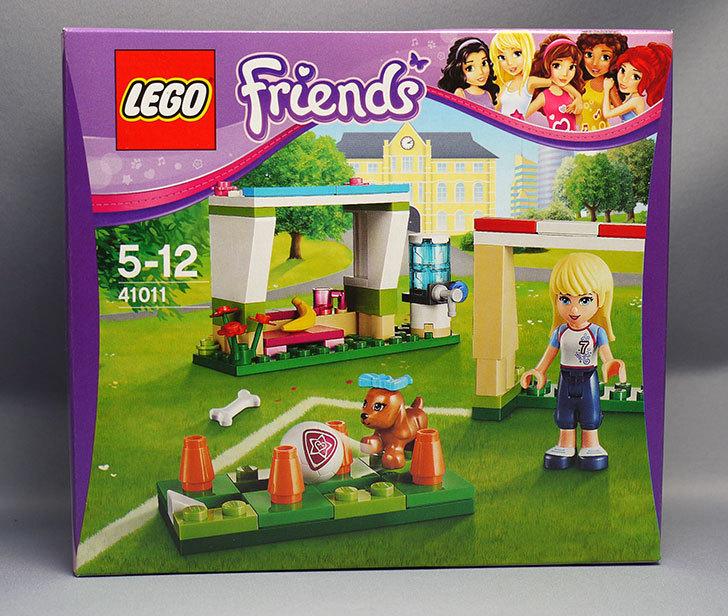 LEGO-41011-サッカートレーニングが届いた。60%OFFのヤツ1.jpg