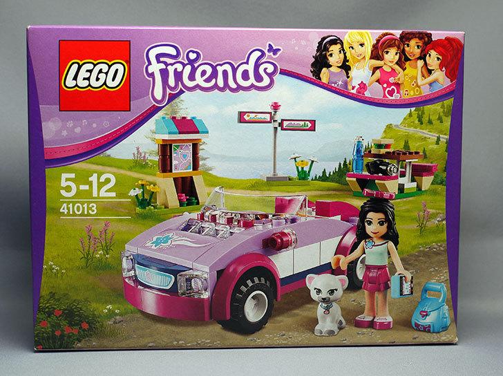 LEGO-41013-ピクニックスポーツカーが届いた1.jpg