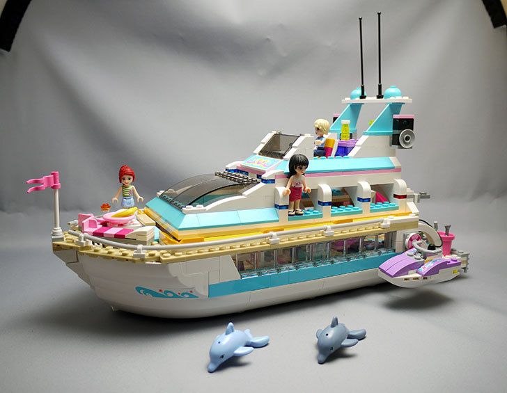 LEGO-41015-ラブリークルーザーを作った1.jpg