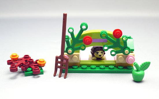 LEGO-41020-ハリネズミとシークレットガーデンを作った1.jpg