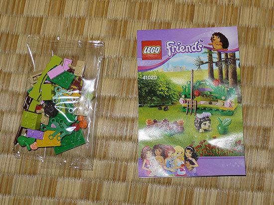 LEGO-41020-ハリネズミとシークレットガーデンを作った2.jpg
