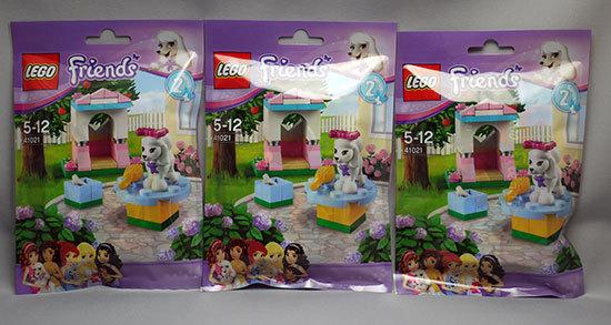 LEGO-41021-プードルとラブリーキャッスルを3個追加購入した1.jpg
