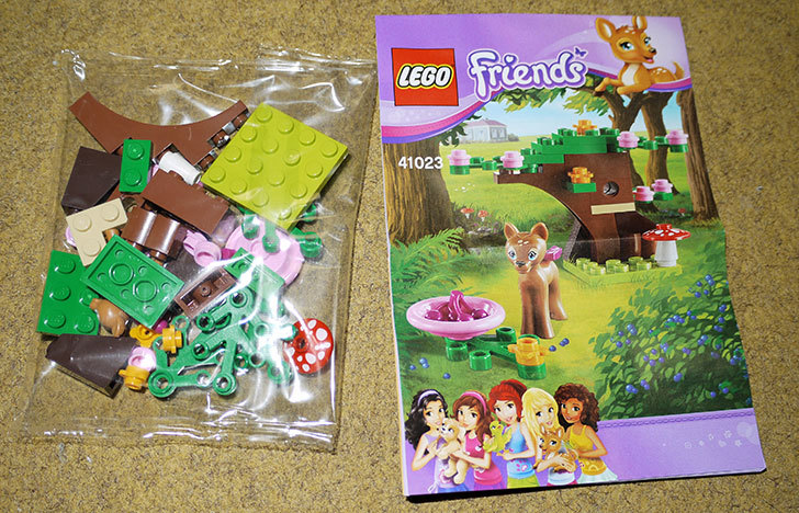 LEGO-41023-バンビとグリーンフォレストを作った2.jpg
