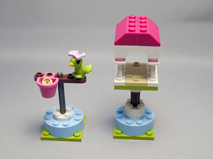 LEGO-41024-オウムとカラフルパーチを作った1.jpg