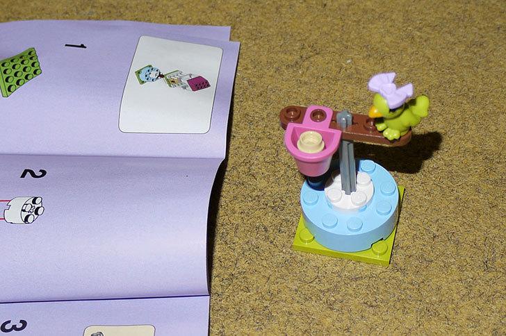 LEGO-41024-オウムとカラフルパーチを作った3.jpg