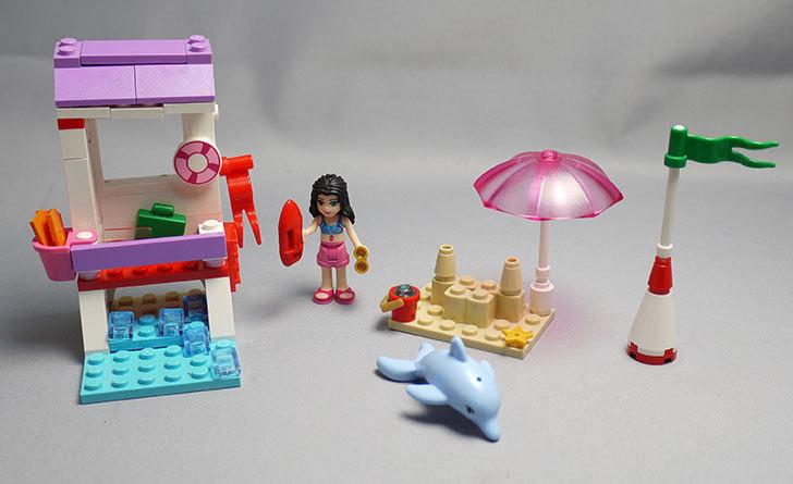 LEGO-41028-ビーチライフガードを作った1.jpg