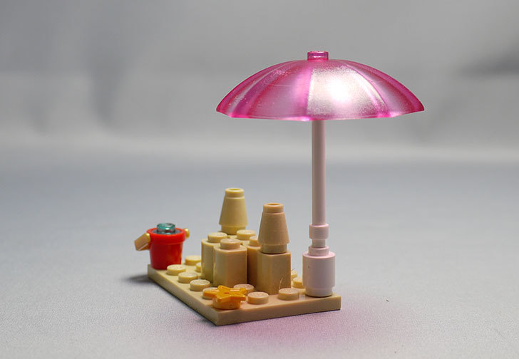 LEGO-41028-ビーチライフガードを作った15.jpg