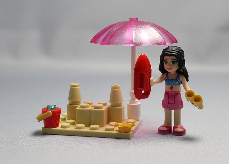 LEGO-41028-ビーチライフガードを作った16.jpg