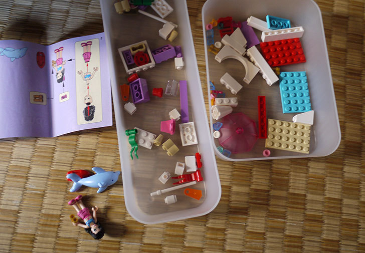 LEGO-41028-ビーチライフガードを作った3.jpg