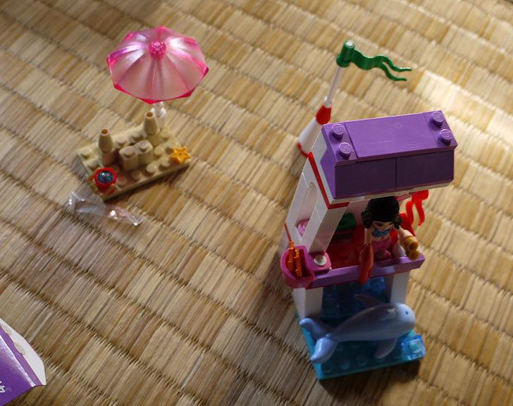 LEGO-41028-ビーチライフガードを作った6.jpg