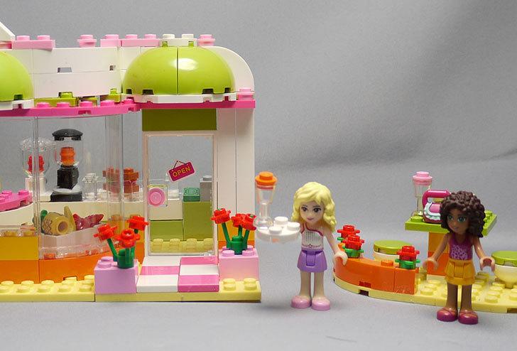 LEGO-41035-ハートレイクジュースバーを作った1.jpg