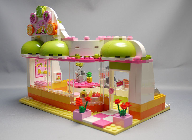 LEGO-41035-ハートレイクジュースバーを作った17.jpg