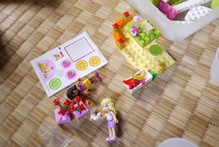 LEGO-41035-ハートレイクジュースバーを作った6.jpg