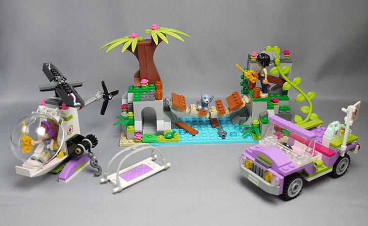 LEGO-41036-ドキドキジャングルリバーを作った1.jpg