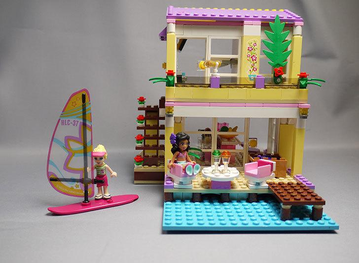 LEGO-41037-ハートレイクビーチハウスを作った1.jpg