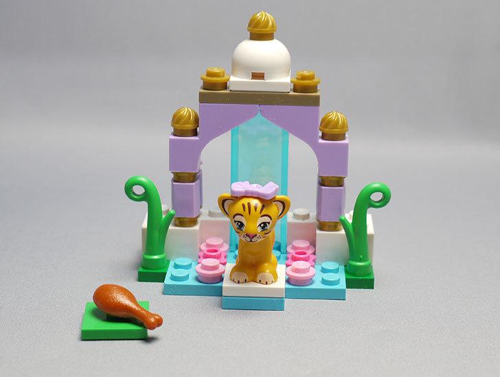 LEGO-41042-トラとビューティーテンプルを作った1.jpg