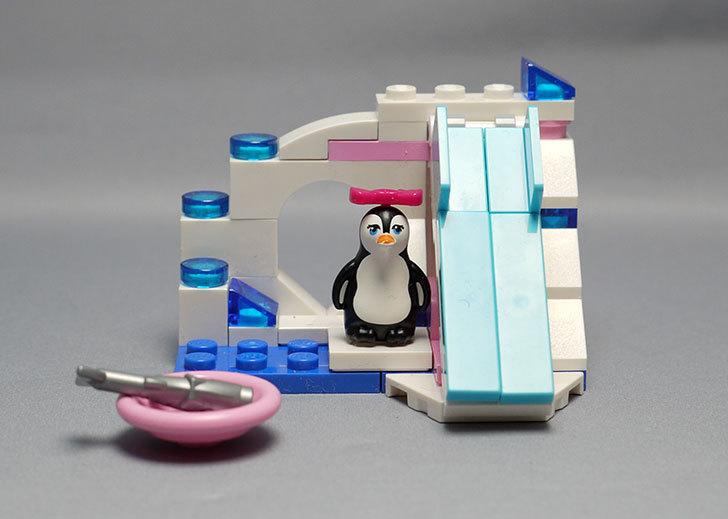 LEGO-41043-ペンギンとアイスマウンテンを作った1.jpg