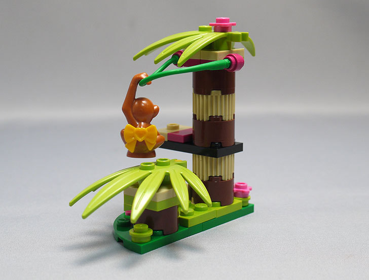 LEGO-41045-オランウータンとバナナツリーを作った4.jpg