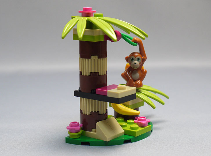 LEGO-41045-オランウータンとバナナツリーを作った8.jpg