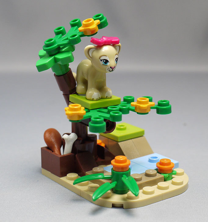 LEGO-41048-ライオンの赤ちゃんとサバンナを作った12.jpg