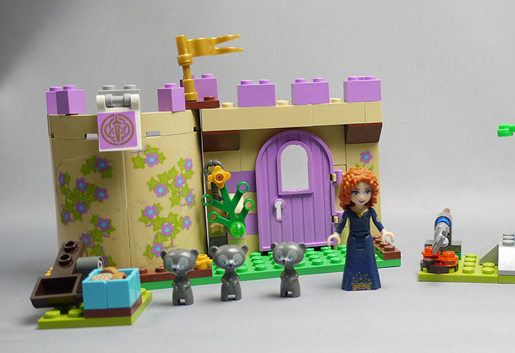 LEGO-41051-メリダのハイランドゲームを作った1.jpg