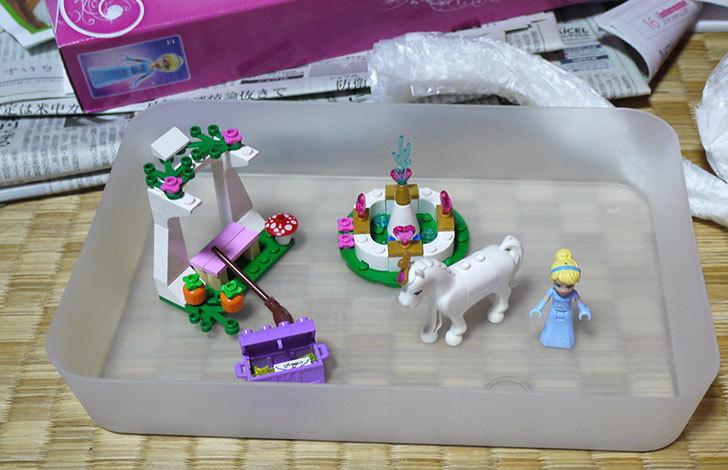 LEGO-41053-シンデレラのまほうの馬車を作った9.jpg