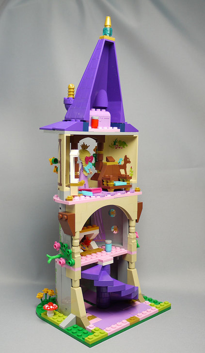 LEGO-41054-ラプンツェルのすてきな塔を作った29.jpg