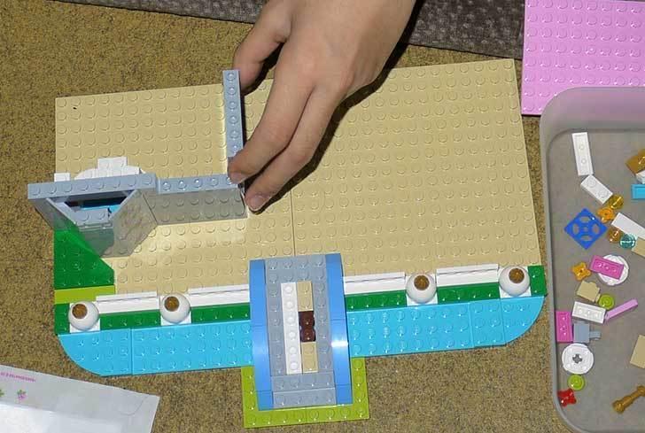 LEGO-41055-シンデレラの城を作った7.jpg