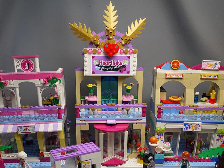 LEGO-41058-ウキウキショッピングモールを作った1.jpg